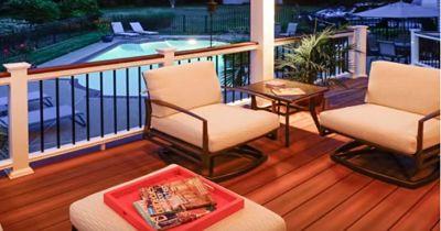 Terraza y sillones