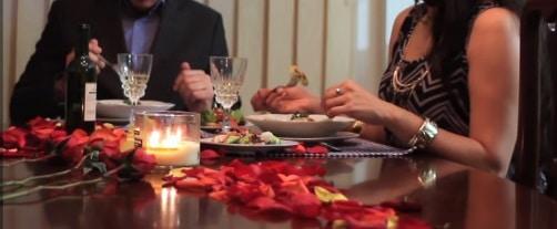 cena con pareja