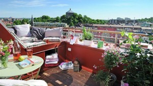 decorar la terraza chill out